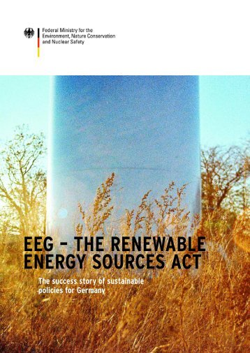 EEG – THE RENEWABLE ENERGY SOURCES ACT