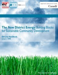 The New District Energy: Building Blocks for Sustainable Community ...