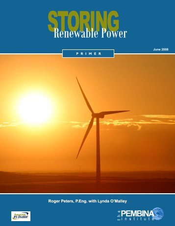 Storing Renewable Power
