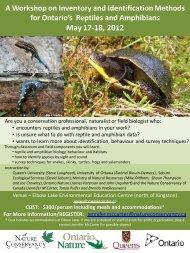 May 17-18, 2012 - Ontario Nature