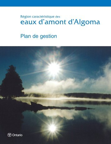 Plan de gestion - Ontario Parks