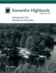 Kawartha Highlands - Ontario Parks