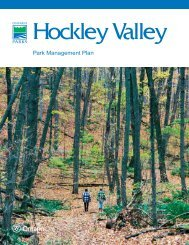 Park Management Plan - Ontario Parks
