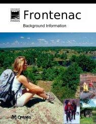 Background Information - Ontario Parks