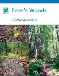 Nature Conservancy of Canada – Ontario Region - Ontario Parks