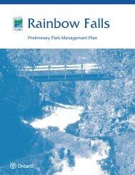 RAINBOW FALLS - Ontario Parks