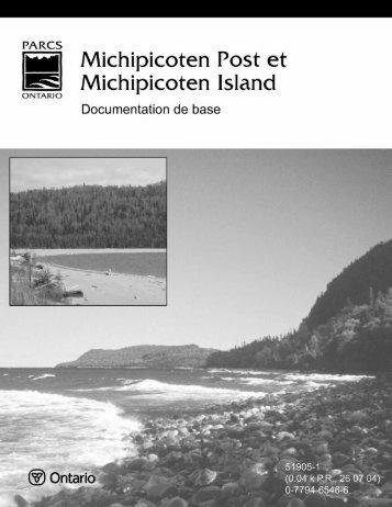Documentation de base - Ontario Parks