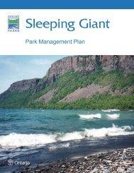 Final Park Management Plan_web.indd - Ministry of Natural ...