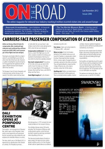 Options and Attractions news - On The Road Magazine Website. An ...