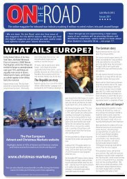 WHAT AILS EUROPE? - On The Road Magazine Website. An ...