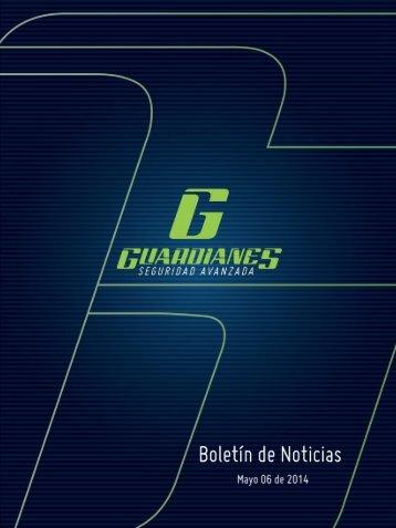Boletín Informativo de Seguridad de Guardianes14