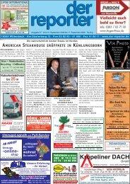 in den Herbst 2008 Schön - Gepflegt -  Gesund - Der Reporter