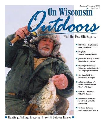 January/February 2008 - On Wisconsin Outdoors