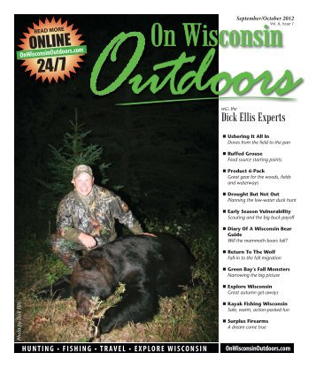 2012Sept-Oct #6-1.indd - On Wisconsin Outdoors