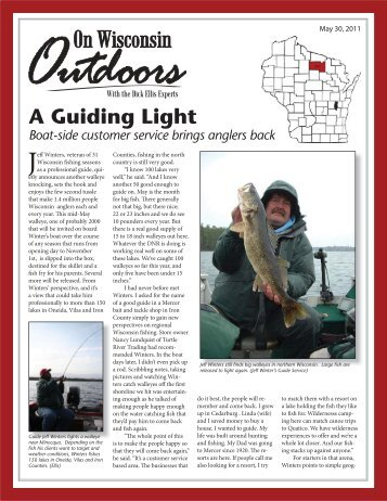 A Guiding Light - On Wisconsin Outdoors