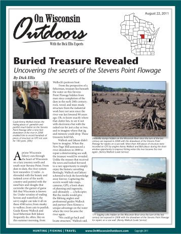 Buried Treasure Revealed - On Wisconsin Outdoors