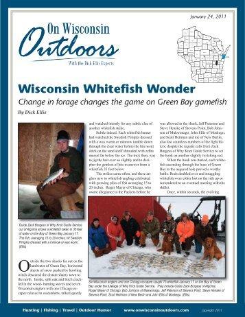 Wisconsin Whitefish Wonder - On Wisconsin Outdoors