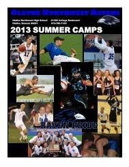2013 ONW Youth Camp Registration Form - Olathe Northwest High ...