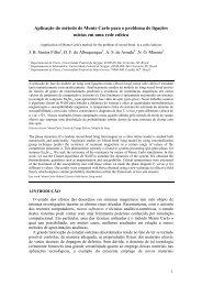 Aplicação do método de Monte Carlo para o problema de ... - OoCities