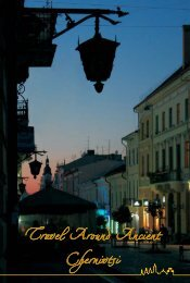 Travel Around Ancient Chernivtsi