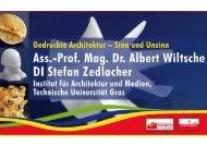 Prof. Mag. Dr. Albert Wiltsche/DI Stefan Zedlacher - Zukunftsakademie