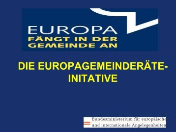 Europagemeinderäte-Initiative