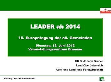 Leader ab 2014 - Oberösterreichischer Gemeindebund