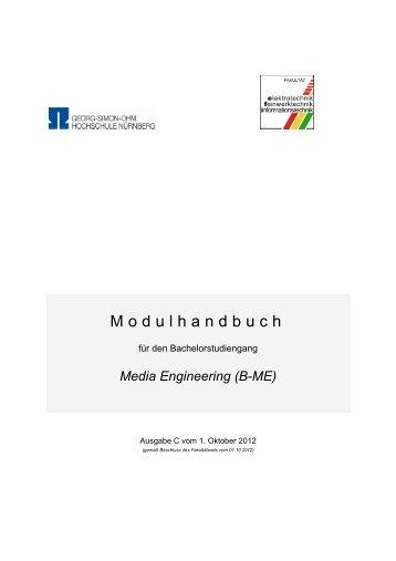 Media Engineering - Elektrotechnik Feinwerktechnik ...