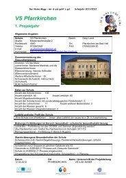 VS Pfarrkirchen - OÖGKK