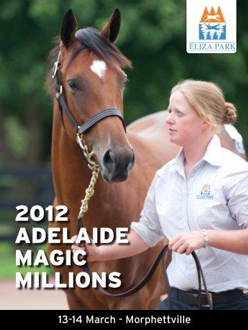 2012 ADELAIDE MAGIC MILLIONS - Eliza Park