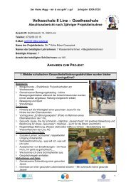 Volksschule 8 Linz – Goetheschule