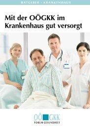 Ratgeber Krankenhaus - OÖGKK