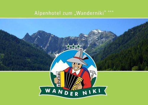 "Alpenhotel zum ""Wanderniki"" Hausprospekt"