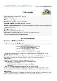 FS Bergheim_Mit Rad(t) und Tat