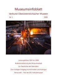 Museumsinfoblatt Nr. 01/2009 - Oberösterreichischer ...
