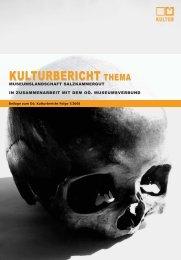 Museumslandschaft Salzkammergut - Oberösterreichischer ...
