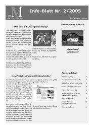 Museumsinfoblatt Nr. 02/2005 - Oberösterreichischer ...