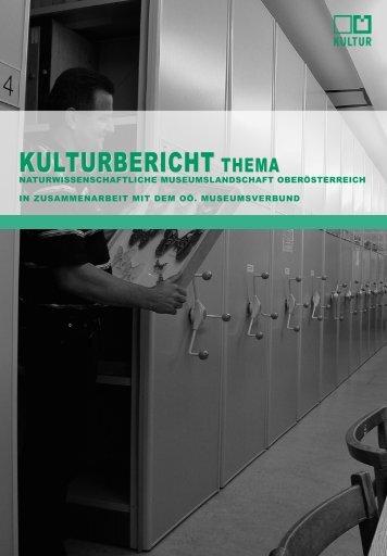 Naturwissenschaftliche Museumslandschaft - Oberösterreichischer ...