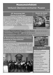 Museumsinfoblatt Nr. 04/2007 - Oberösterreichischer ...