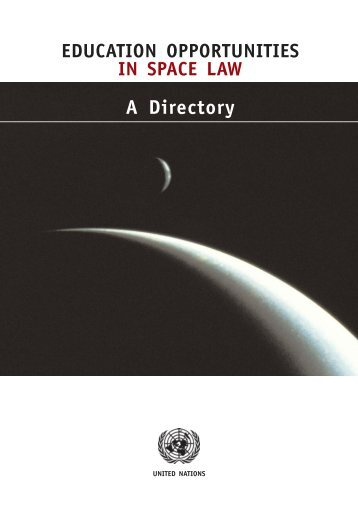 A Directory - United Nations Office for Outer Space Affairs