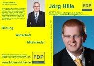 Jörg Hille - FDP Kreisverband Nienburg
