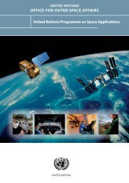 new brochure on the United Nations Programme on Space ...