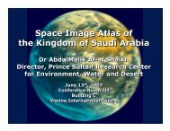 Space Image Atlas of the Kingdom of Saudi Arabia