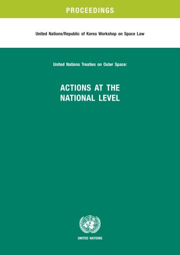 actions at the national level - United Nations Office for Outer Space ...
