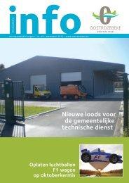 Nieuwe loods voor de gemeentelijke technische dienst - Oostrozebeke