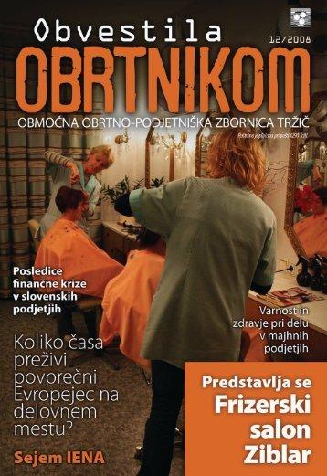 Obvestila december 2008 - Območna obrtno-podjetniška zbornica ...