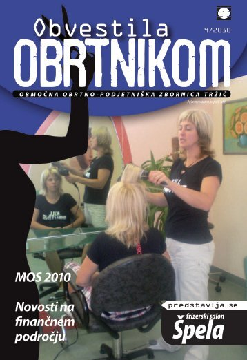 Obvestila september 2010 - Območna obrtno-podjetniška zbornica ...