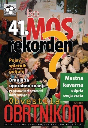 Obvestila september 2008 - Območna obrtno-podjetniška zbornica ...