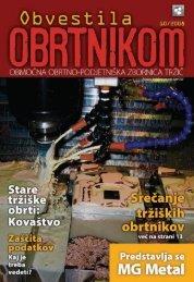 Obvestila oktober 2008 - Območna obrtno-podjetniška zbornica Tržič