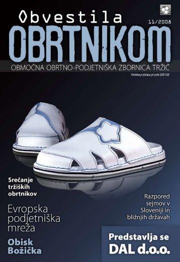 Obvestila november 2008 - Območna obrtno-podjetniška zbornica ...